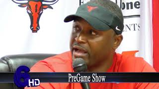 Marshall coach Mathis talks about rival Longview football game