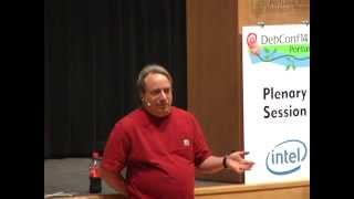 DebConf 14: Q&A with Linus Torvalds