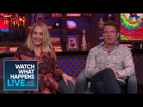 Jemima Kirke And Dennis Quaid On Sex  Boners  WWHL