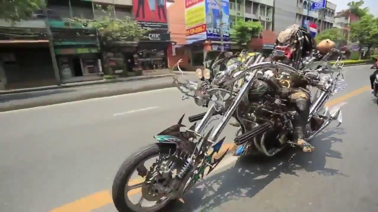 Predator On Motorcycle 2018 Youtube