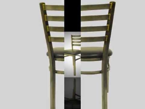 distressed metal furniture. Delighful Metal Clear Coat Distressed Metal Ladder Back Chair Intended Furniture