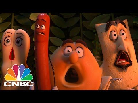 'Sausage Party' Produces Box Office Bonanza | Squawk Box | CNBC