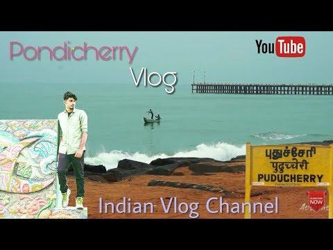 pondicherry beach vlog   weekend getaway india   travel vlogs
