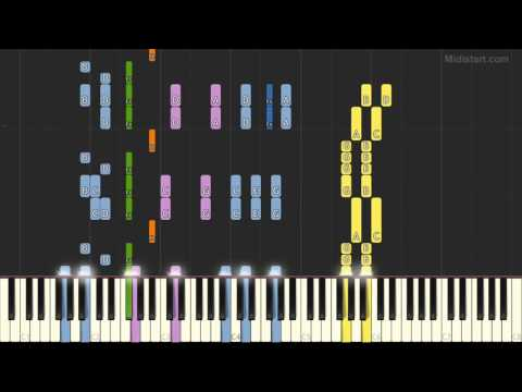 Whitesnake - Here I Go Again (Piano Tutorial) [Synthesia Cover]