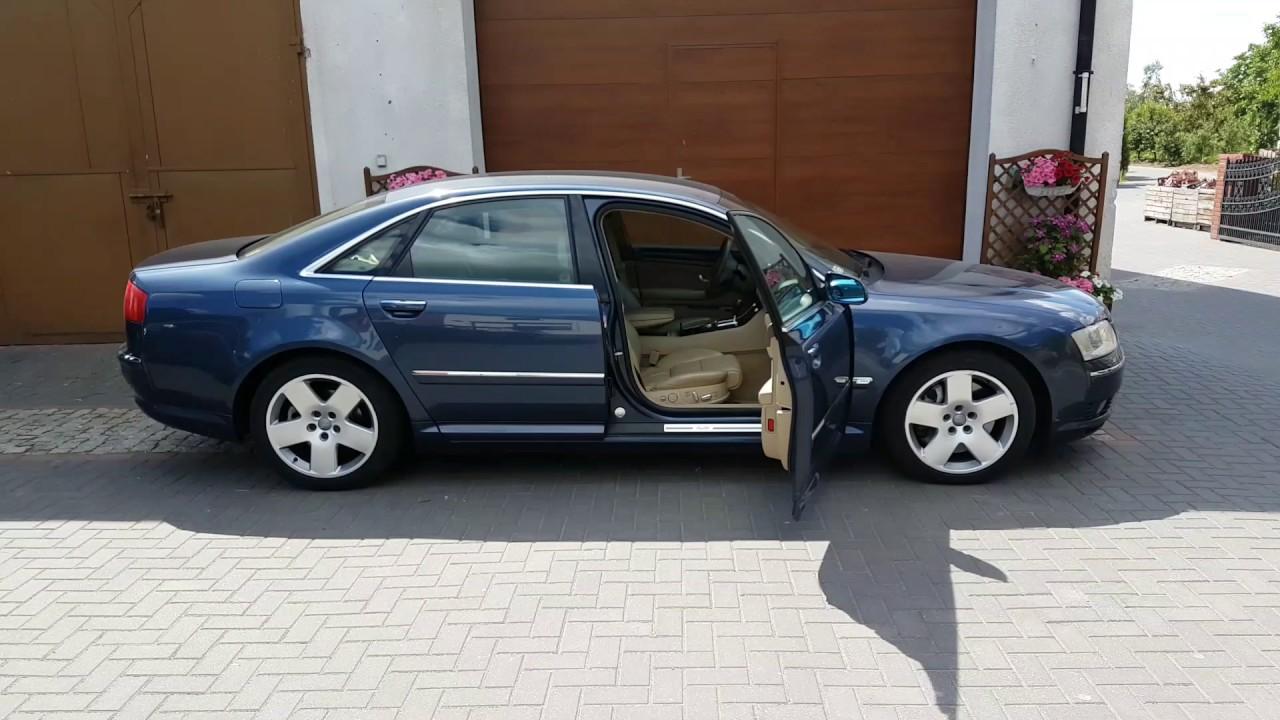 Audi A8 D3 Zawieszenie Pneumatyczne Youtube