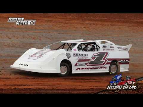 #1 Bo Minor - Mini Stock - 5-11-18 Moulton Speedway - In Car Camera