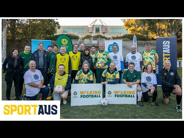 Move It AUS Better Ageing Grant - Walking Football