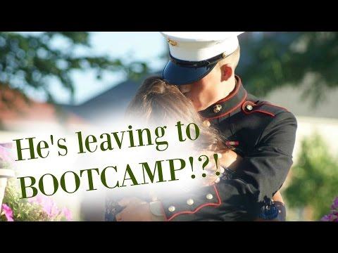 HE'S LEAVING TO BOOTCAMP. NOW WHAT??? | M.M.W