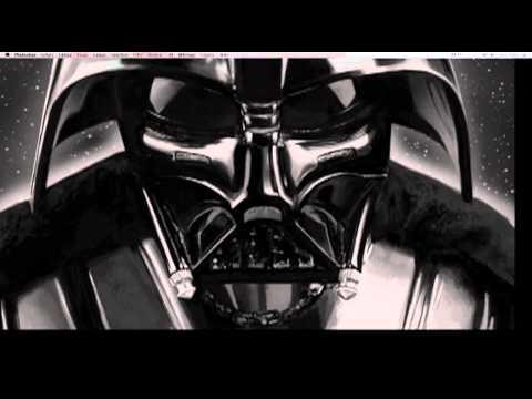 Digital Painting Darth Vader