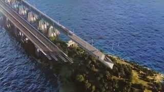 Крымский мост / Crimean bridge(Сделали про меня ролик. Красота... p.s.Подписывайтесь в социальных сетях: https://twitter.com/krymsky_bridge https://www.facebook.com/krymsky..., 2015-10-02T10:57:18.000Z)