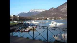 Location Vacances Annecy (74000) Lac canaux - montagnes - Tourisme Haute Savoie