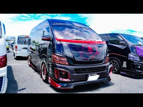 (HD)BODYLINE NISSAN URVAN NV350 Bodykit Custom ボディライン 日産キャラバンNV350カスタム - #SBM大阪2018
