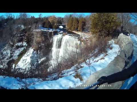 Winter Ontario-Trip to Hamilton Falls