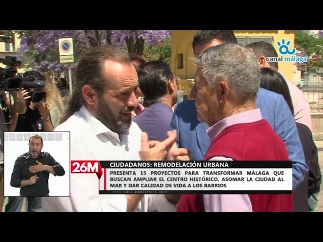 Cs presenta los Ejes de Urbanismo de su programa electoral para las elecciones del 26M