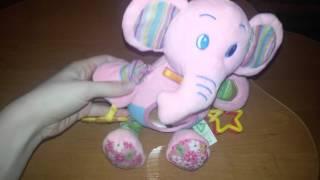Elc  слоник мягкая игрушка обзор