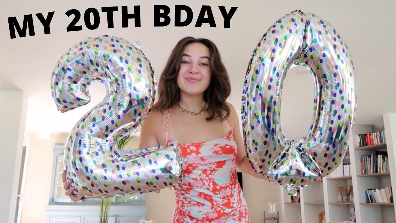 my 20th bday!!! 🥂