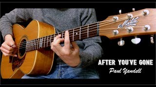 After You 39 ve Gone Paul Yandell Fingerstyle Guitar cover by Lorenzo Polidori TABS
