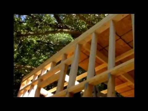 Building our Tiny House (roof part 1) - YouTube