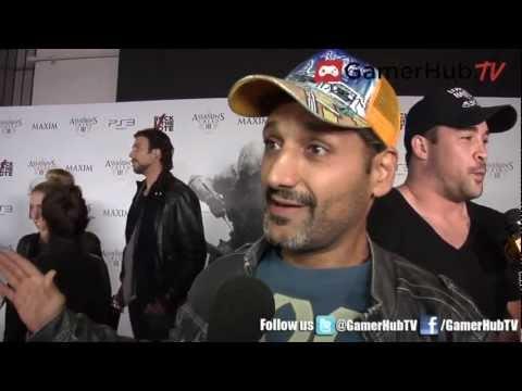 Actor Cas Anvar Discusses Voicing Altair in Assassin's Creed