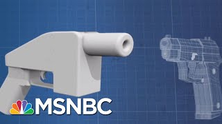 President Donald Trump Consulted NRA About 3D-Printed 'Ghost Guns' | Velshi & Ruhle | MSNBC