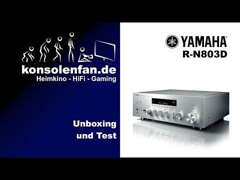Unboxing: Yamaha R-N803D ausgeboxt und eingestellt