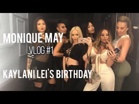 NO MAKEUP ME | KAYLANI LEI'S BIRTHDAY | MAGIC MIKE