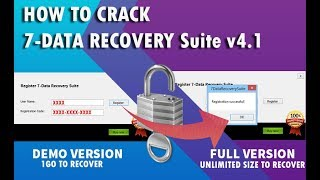 How to Activate 7-data recovery suite v4.1 (get your full version NOW)_get unlimited data size