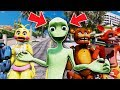 ANIMATRONICS FOUND THE *REAL* DAME TU COSITA! (GTA 5 Mods For Kids FNAF RedHatter)