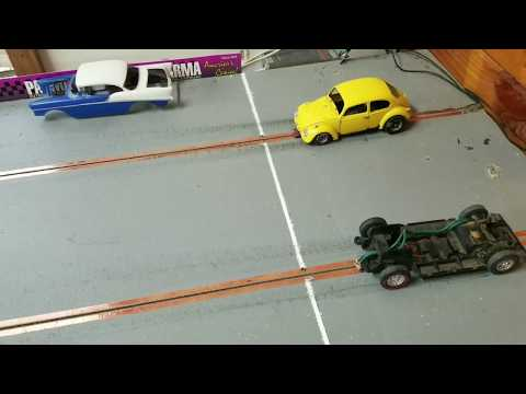 Slot Car timing system