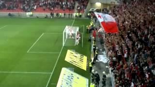 Závěr zápasu SK SLAVIA PRAHA - FC VIKTORIA PLZEŇ 1:0