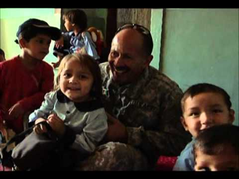 U.S. Army Chaplain Visits A Day Care Center in Kabul, Afghanistan
