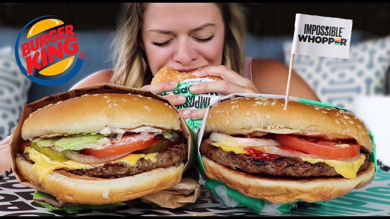 Burger king bikini woman