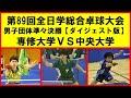 【卓球プレイバック】 インカレ  準々決勝 専修大学 vs 中央大学