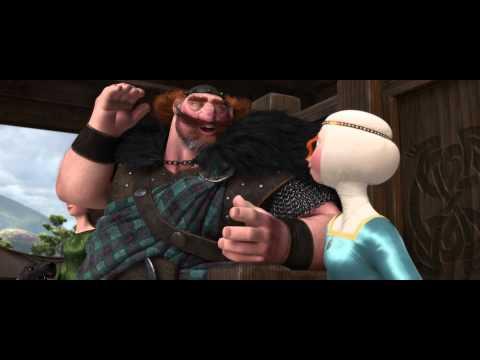 Disney Pixar España | Escena Brave (Indomable): Mérida con arco y flecha