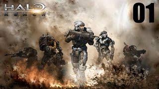 Прохождение Halo: Reach на русском (rus sub) #01