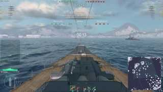 World of Warships Beta Weekend: Yamato Gameplay