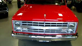1985 Chevrolet C-10 Silverado Nicely Restored Red Beauty FOR SALE NOW!
