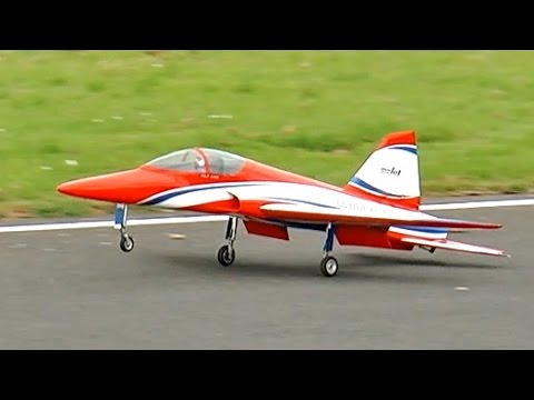 400 KMH 248 MPH CARF ULTRA FLASH HIGH SPEED RC TURBINE MODEL JET DEMO FLIGHT / Jetpower Messe 2015