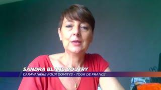 Yvelines | Première expérience de caravanière sur le Tour de France