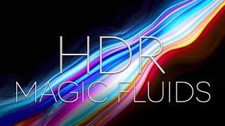 MAGIC FLUIDS HDR // 4K MACRO COLORS // SATISFYING VISUALS // FLUID ART //