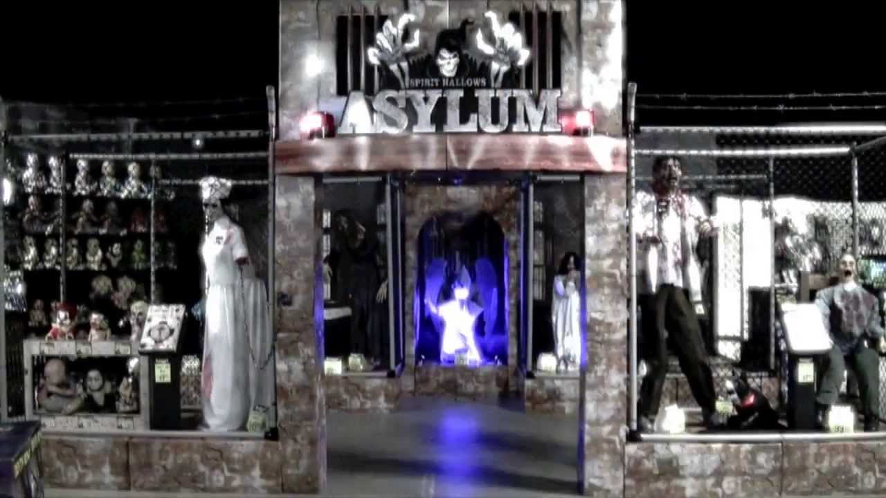 spirit halloween spirit asylum 2013 youtube - Spirit Halloween Decorations