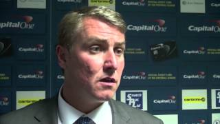 Clark on Sunderland defeat | Birmingham City 0-3 Sunderland | Capital One Cup Second Round