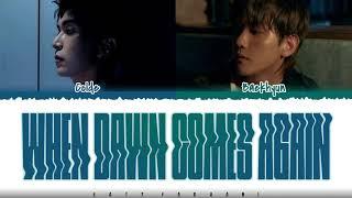 Download COLDE - 'When Dawn Comes Again' (또 새벽이 오면) [Feat BAEKHYUN] Lyrics [Color Coded_Han_Rom_Eng]