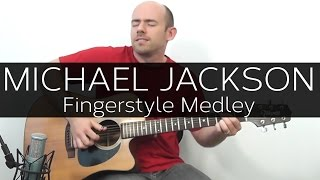 Baixar The Best of Michael Jackson - Acoustic Guitar Solo cover (Violão Fingerstyle)