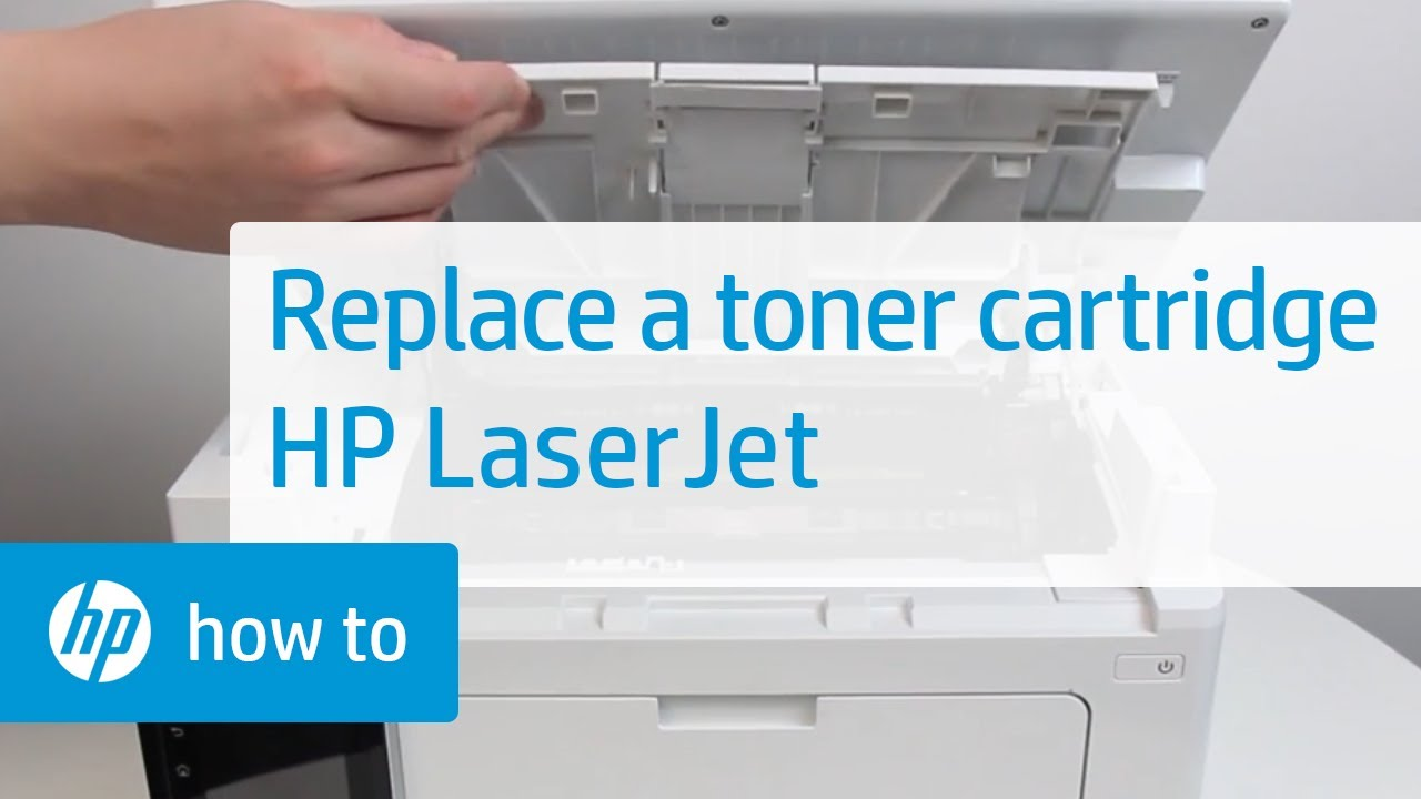 Replacing The Toner Cartridge On Hp Laserjet Printers Hp