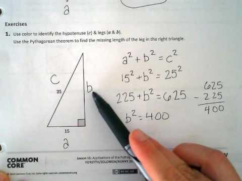 Lesson 16 - 8th grade math