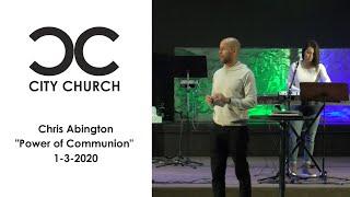 Chris Abington I City Church I 1-3-21