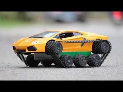 How to make a Car | Amazing DIY Toys - Lamborghini car
