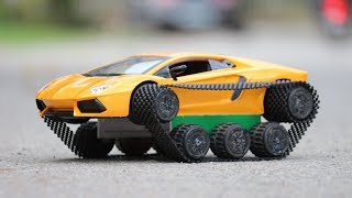 How To Make A Car | Amazing Diy Toys - Lamborghini Car