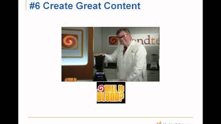 Winning Tactics for Content Creation and Marketing 2011